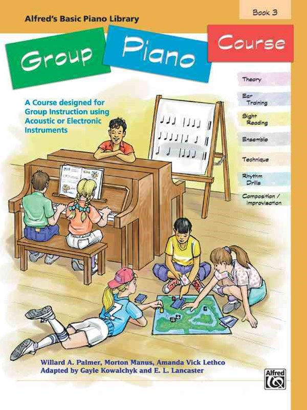 ABPL GROUP PIANO COURSE 3 BOOK