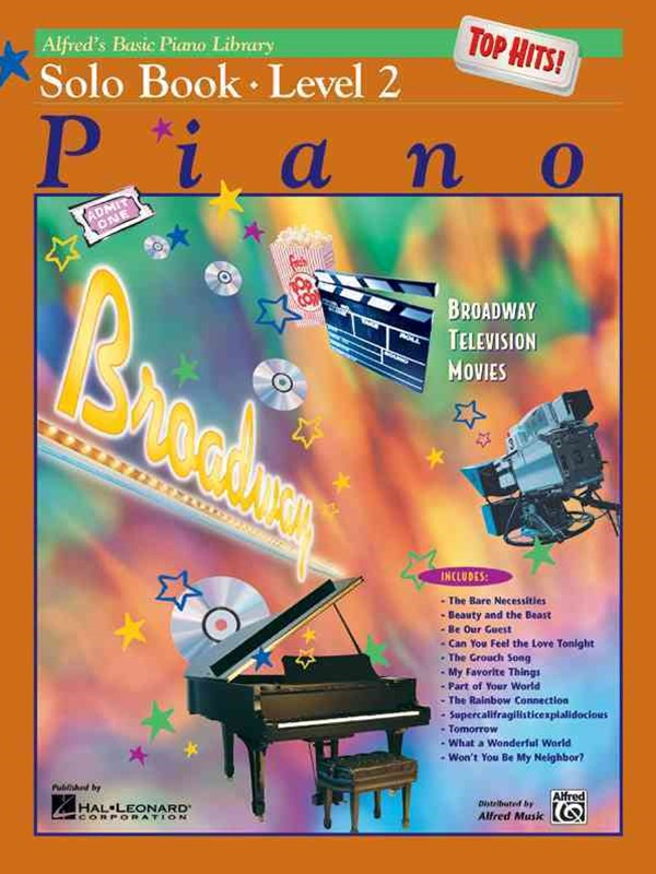 Alfred's Basic Piano Course Top Hits! Solo Book, Level 2
