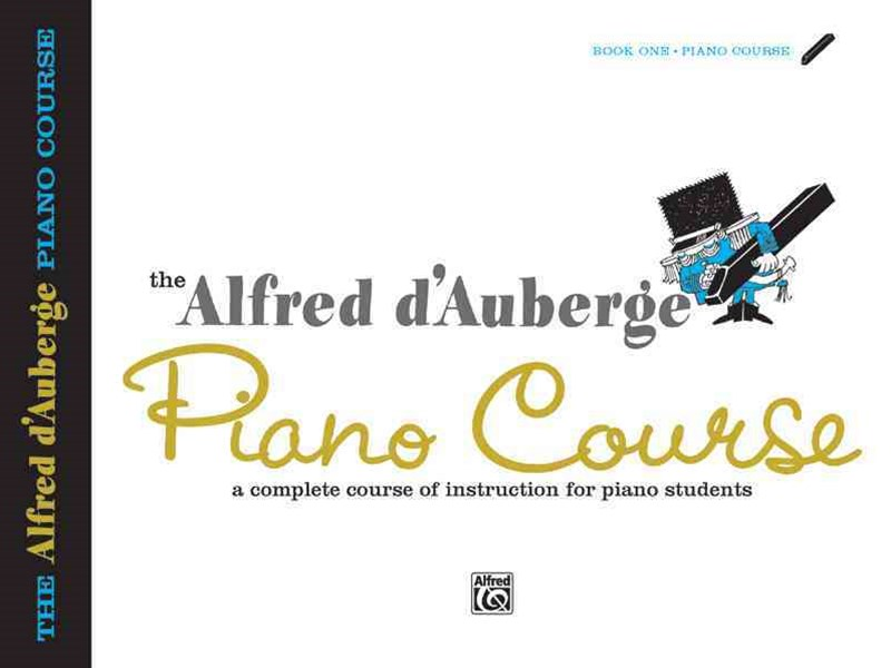Alfred d'Auberge Piano Course Lesson Book