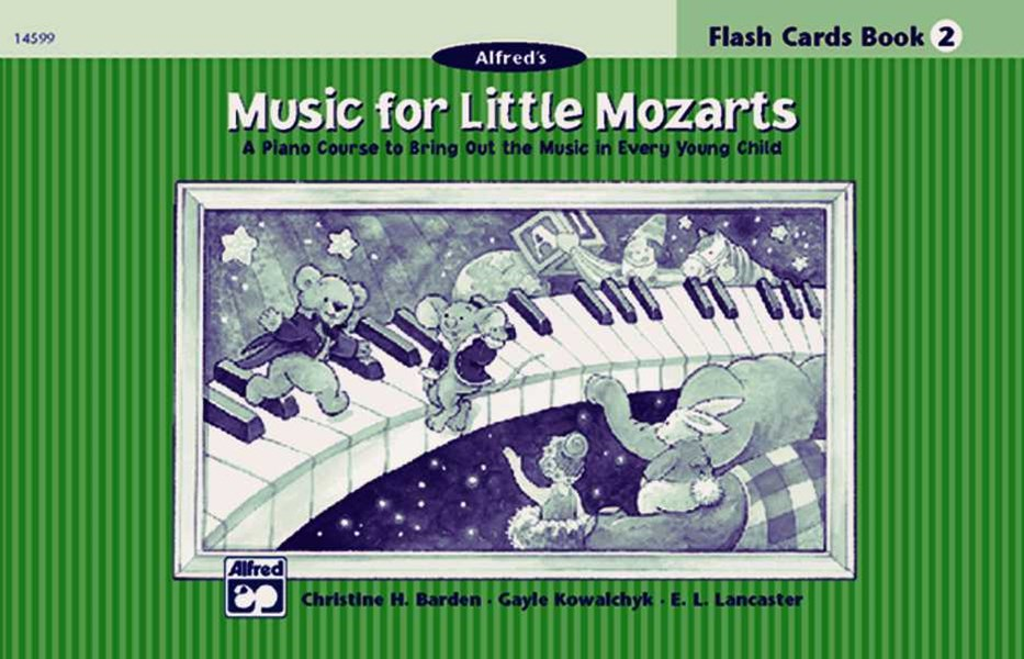 Music for Little Mozarts Flash Cards
