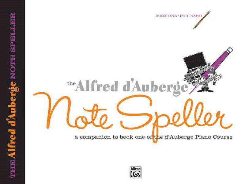 Alfred d'Auberge Piano Course Note Speller
