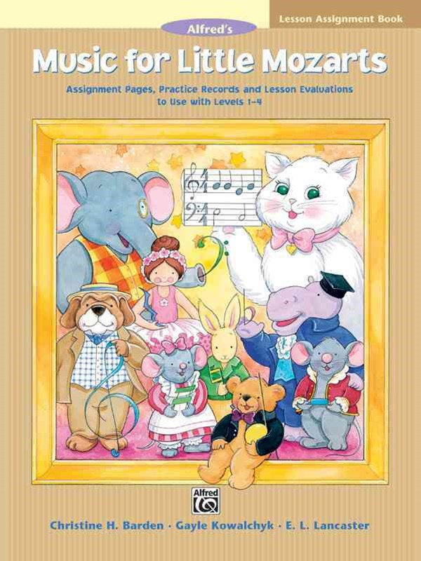 Music for Little Mozarts Lesson Assignment Book