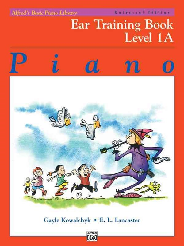 Alfred's Basic Piano Course Ear Training Book, Level 1A