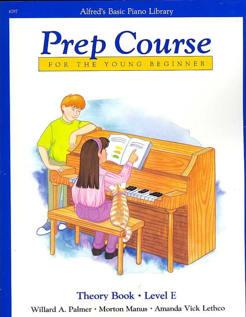 Alfred's Basic Piano Prep Course Theory Book, Level E