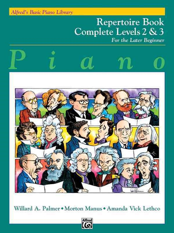 Alfred's Basic Piano Course Repertoire