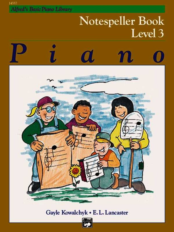 Alfred's Basic Piano Course Notespeller, Level 3