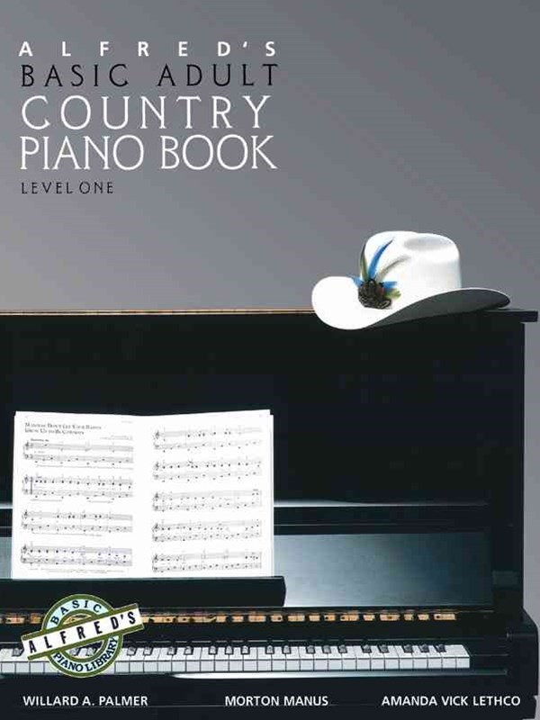 Alfred's Basic Adult Piano Course Country Songbook