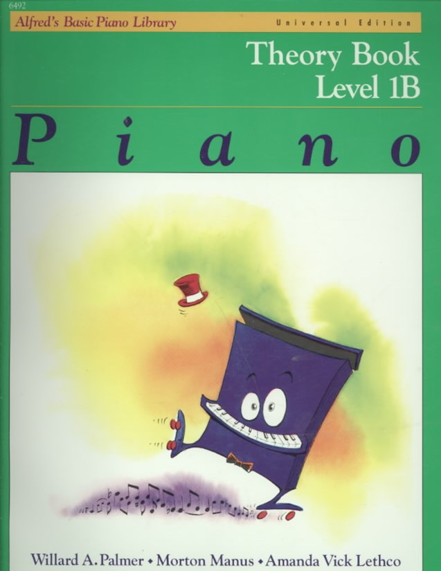 Alfred's Basic Piano Course Theory, Level 1B