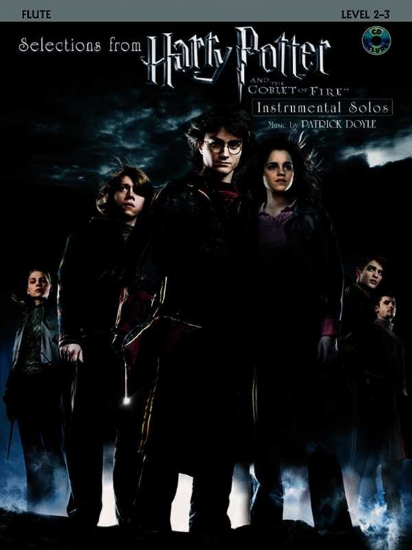 Hp the Goblet of Fire - Flute Bk/Cd
