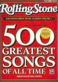 Rolling Stone Easy Piano Sheet Music Classics, Vol 1