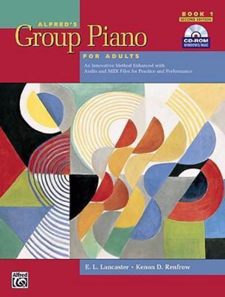 Alfred's Group Piano for Adults Student Book