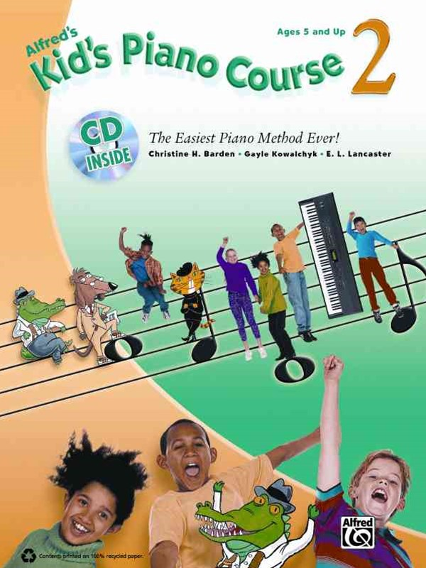 Kid's Piano Course 2
