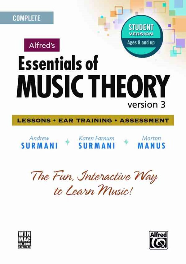 Essentials of Music Theory Software, Version 3. 0