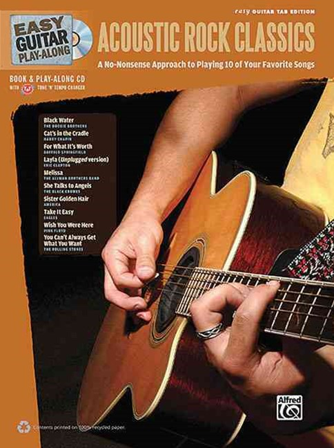 Easy Guitar Play-along Acoustic Rock Classics