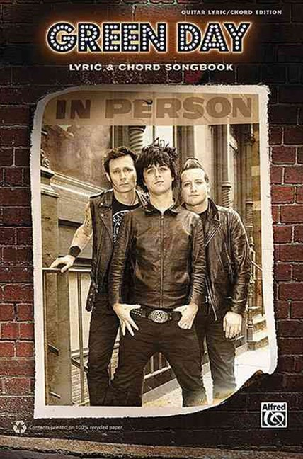 Green Day -- Lyric and Chord Songbook
