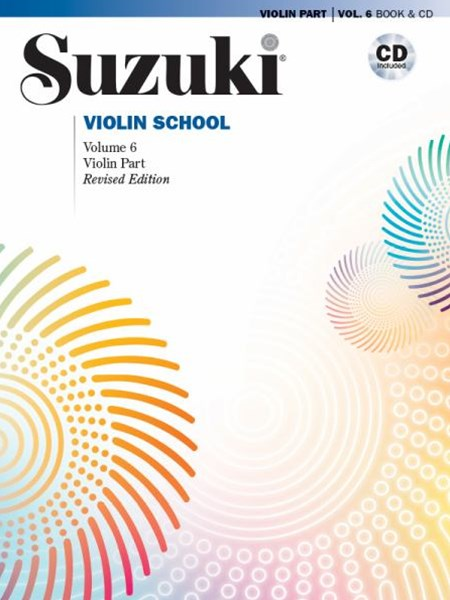 Suzuki Violin School, Vol 6