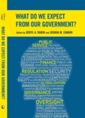(ebook) What Do We Expect from Our Government?