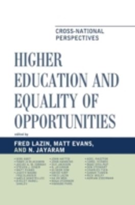 (ebook) Higher Education and Equality of Opportunity