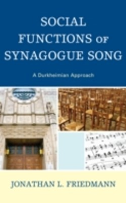 Social Functions of Synagogue Song