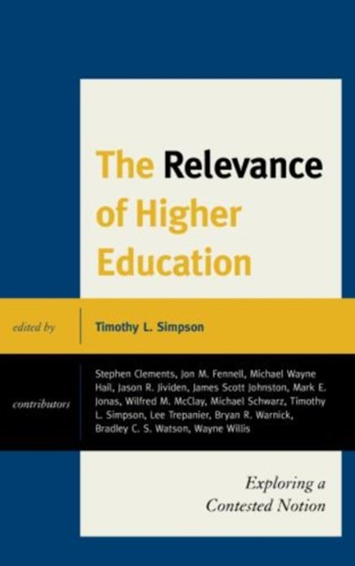 Relevance of Higher Education
