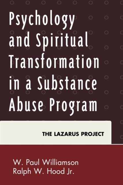 (ebook) Psychology and Spiritual Transformation in a Substance Abuse Program