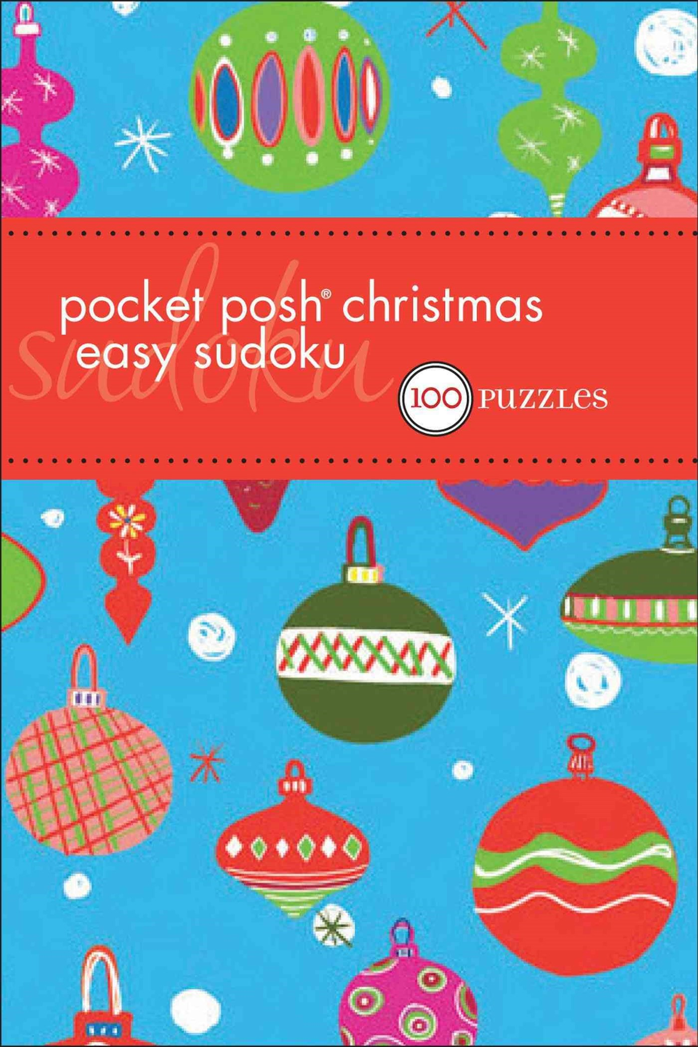 Pocket Posh Christmas Easy Sudoku