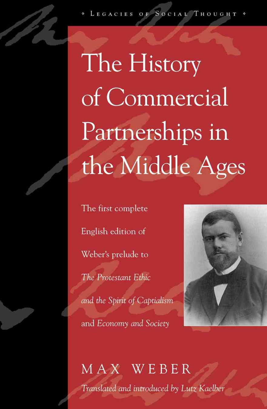 The History of Commercial Partnerships in the Middle Ages