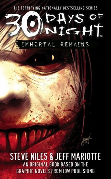 30 Days of Night Book Ywo: Immortal Remains