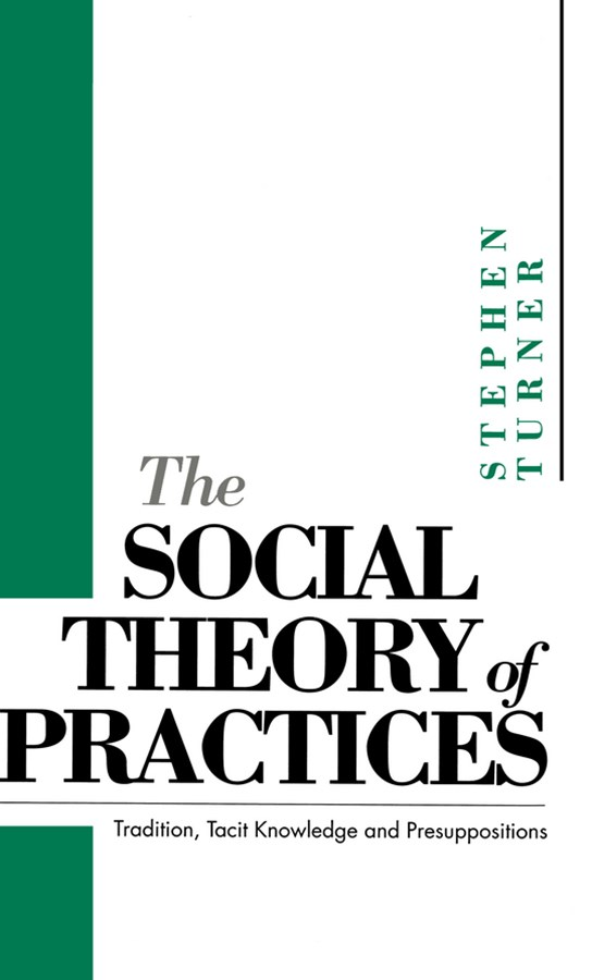 The Social Theory of Practices - Tradition, Tacit Knowledge and Presuppositions