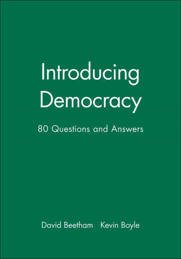 Introducing Democracy - 80 Questions and Answers