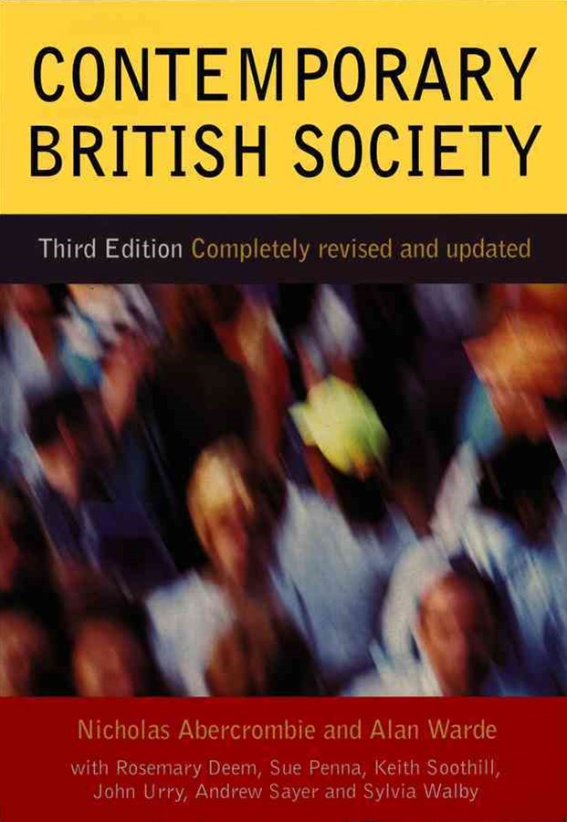 Contemporary British Society 3E