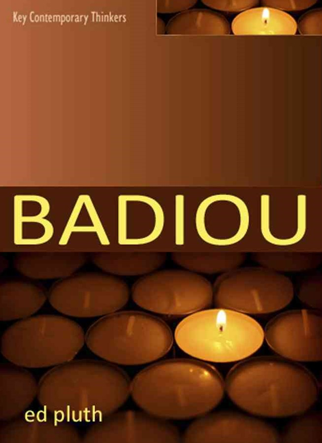 Badiou - a Philosophy of the New