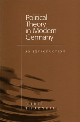(ebook) Political Theory in Modern Germany