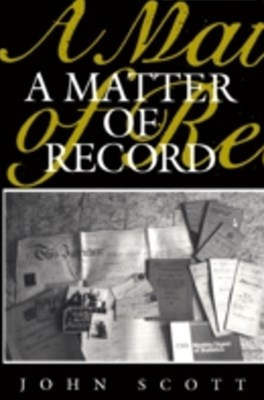 (ebook) Matter of Record