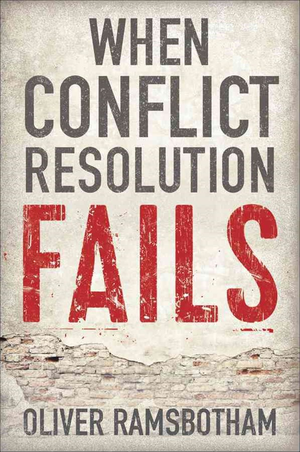 When Conflict Resolution Fails - an Alternative Tonegotiation and Dialogue