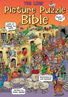 The Lion Picture Puzzle Bible Colouring and Activity Book