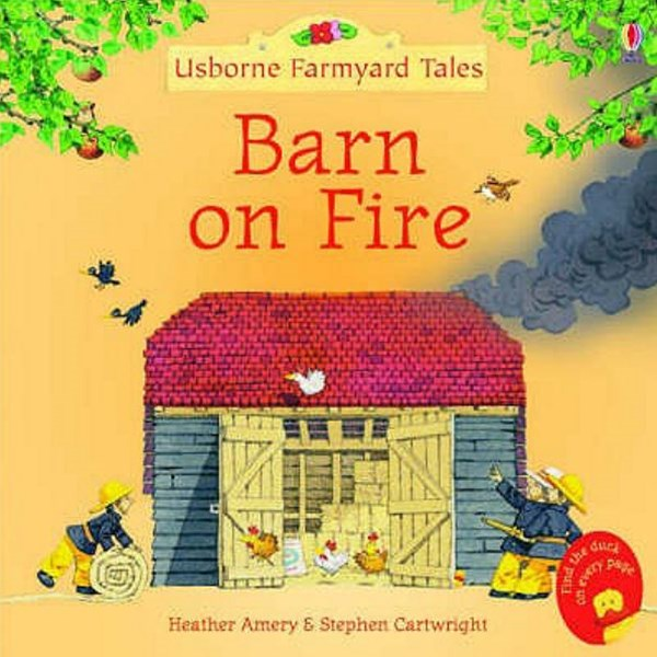 Barn On Fire