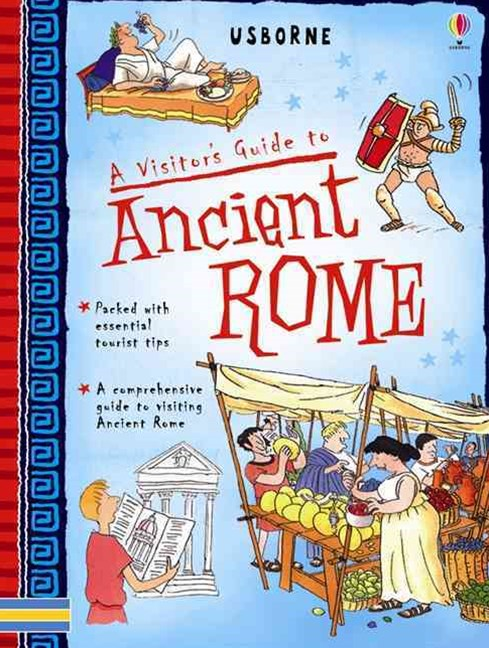 Visitor's Guide to Ancient Rome Spiral Bound