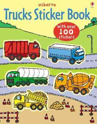 Trucks Sticker Book