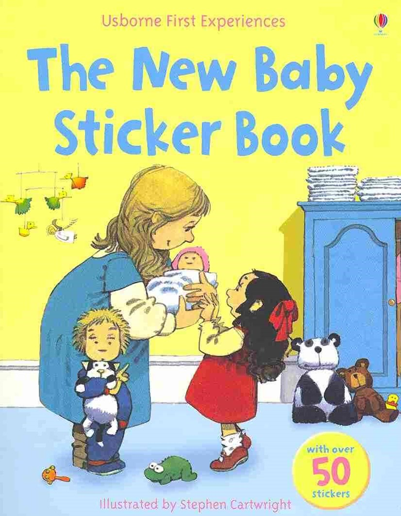 Usborne First Experiences The New Baby Sticker Book