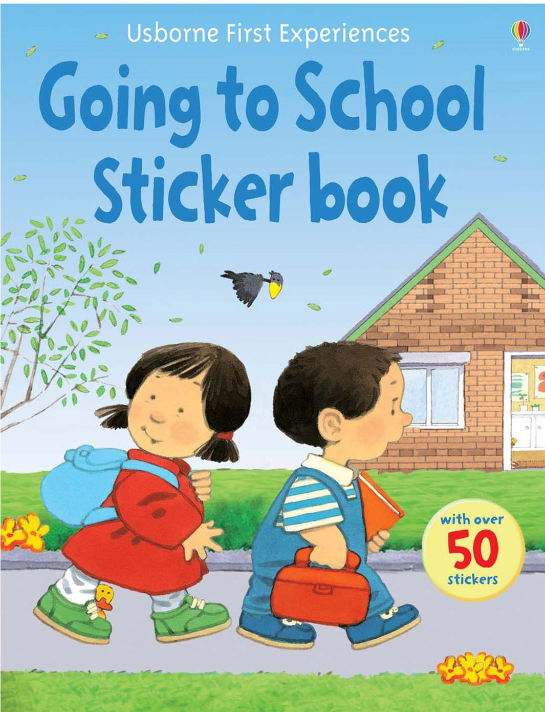 Usborne First Experiences Going to School Sticker Book