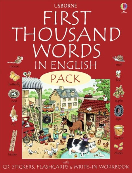 First Thousand Words In English Pack