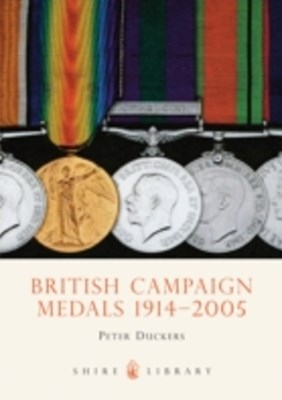 (ebook) British Campaign Medals 1914-2006