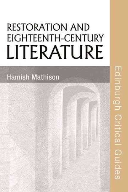Restoration and Eighteenth-Century Literature