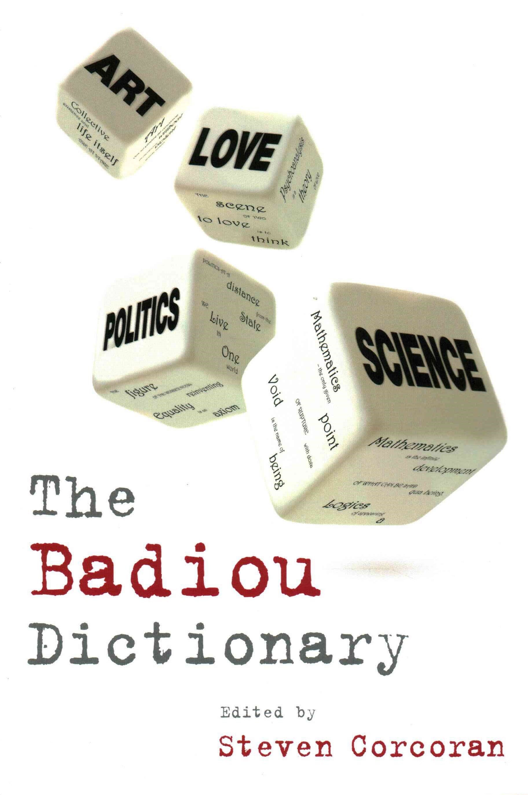 The Badiou Dictionary