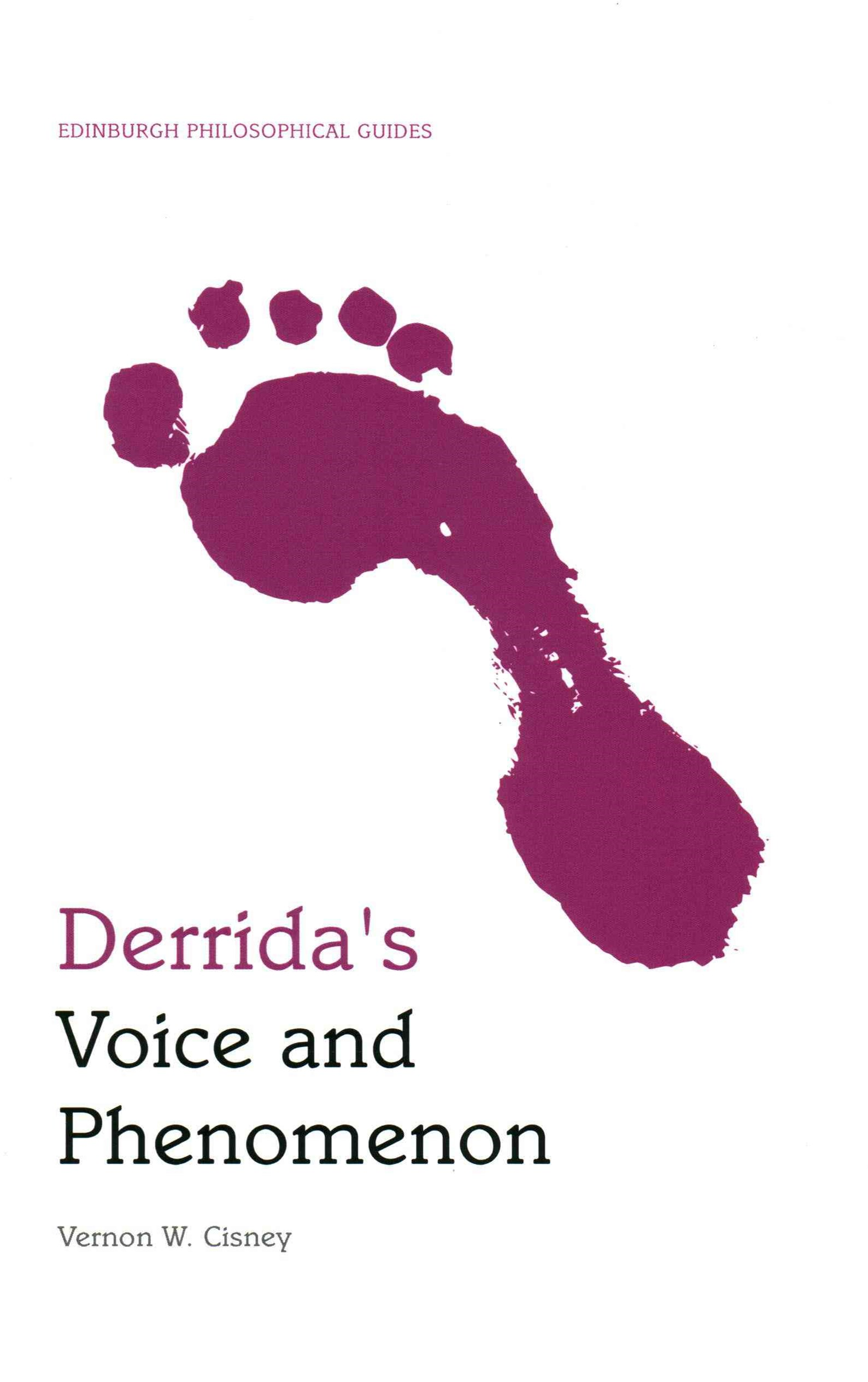 Derrida's Voice and Phenomenon