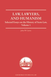 (ebook) Law, Lawyers, and Humanism - Reference Law