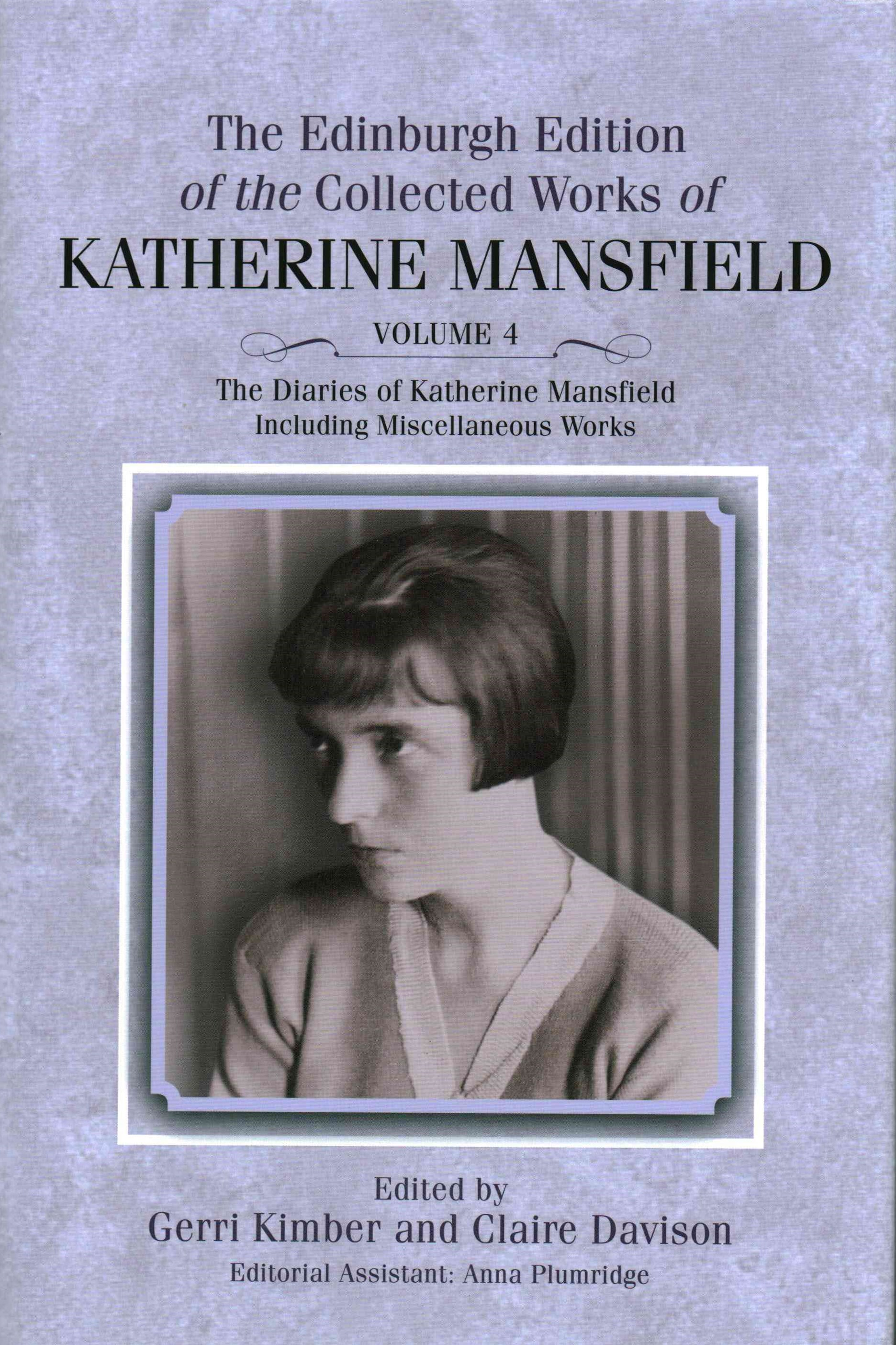 The Diaries of Katherine Mansfield
