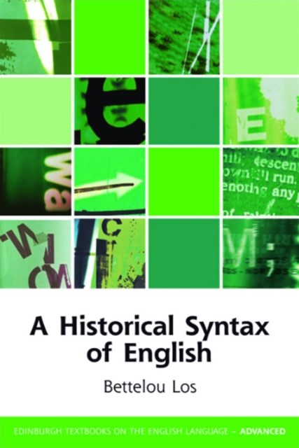 (ebook) Historical Syntax of English