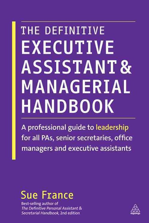 (ebook) Definitive Executive Assistant and Managerial Handbook